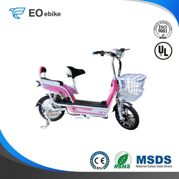 350W Brushless Motor Hot Selling Speed 8 Electric Pedal Scooter
