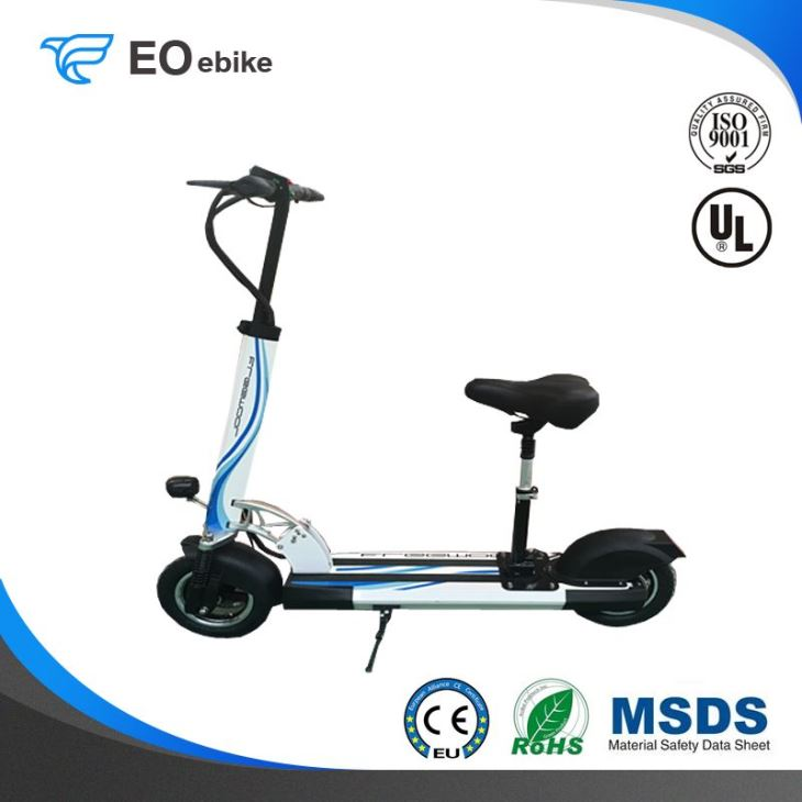 48V 18650 Lithium Battery 500W Classic Electric Smart Scooter