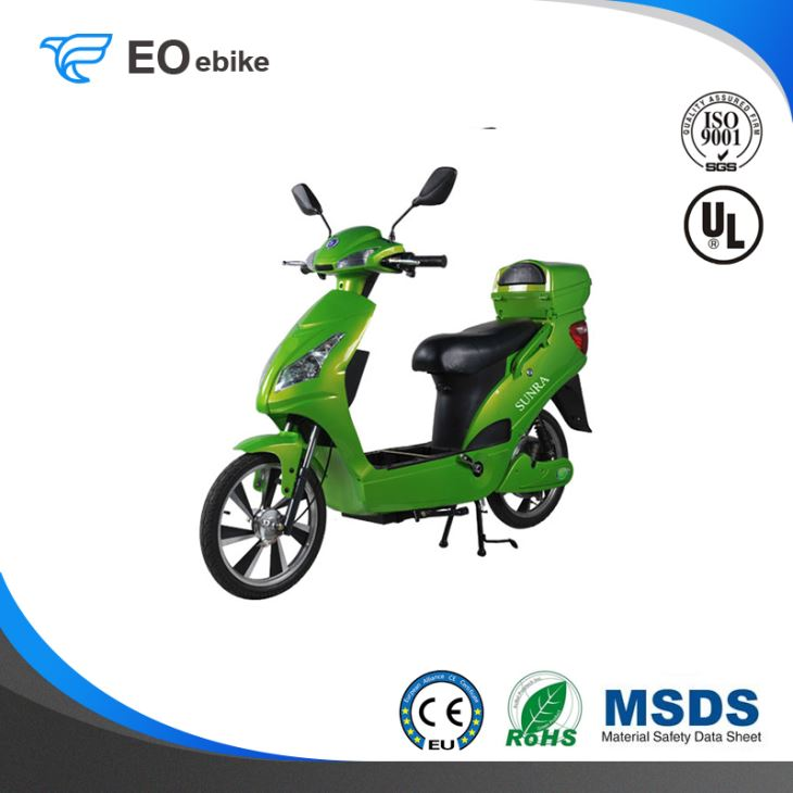 48V/20Ah Gel Battery 250-800W DC Brushless Motor EB02 Simple Electric Motorbike