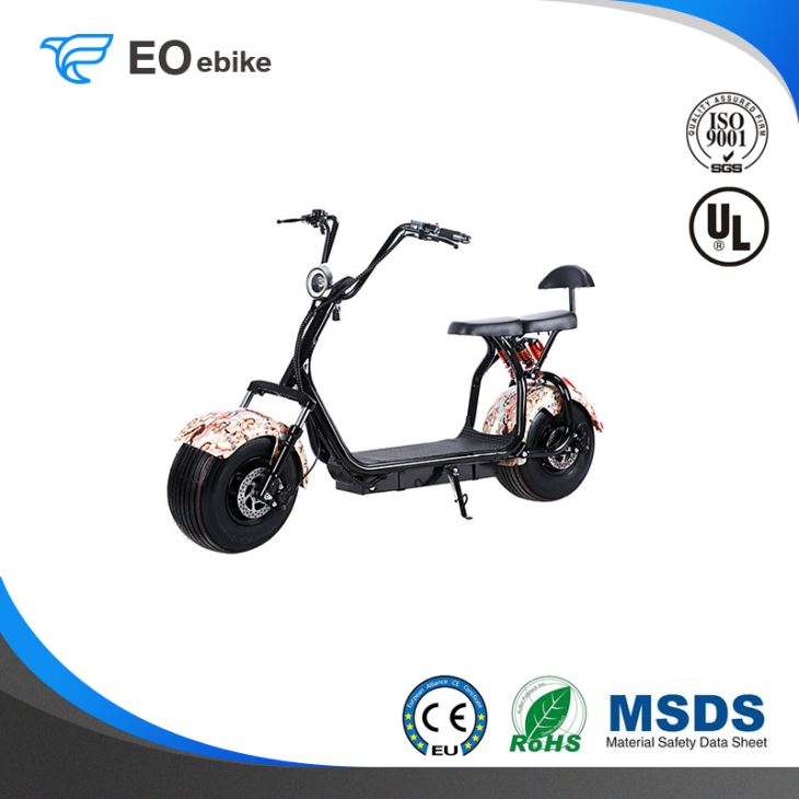 60V/12Ah Lithium Battery 1000W Hot Selling Cool City Electric Harley Motorbike