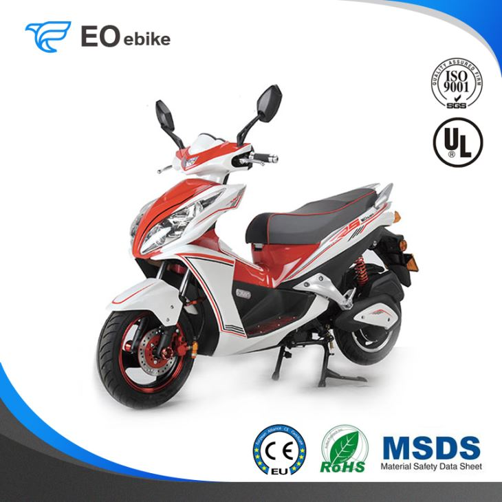 60V/28Ah Gel Battery Brushless Motor SD Luxury Electric Motorbike with EEC