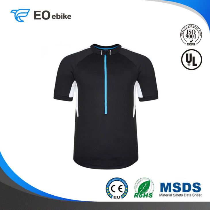 Cycling Top Shirt Anti Bacterial Adults Custom OEM ODM Jersey