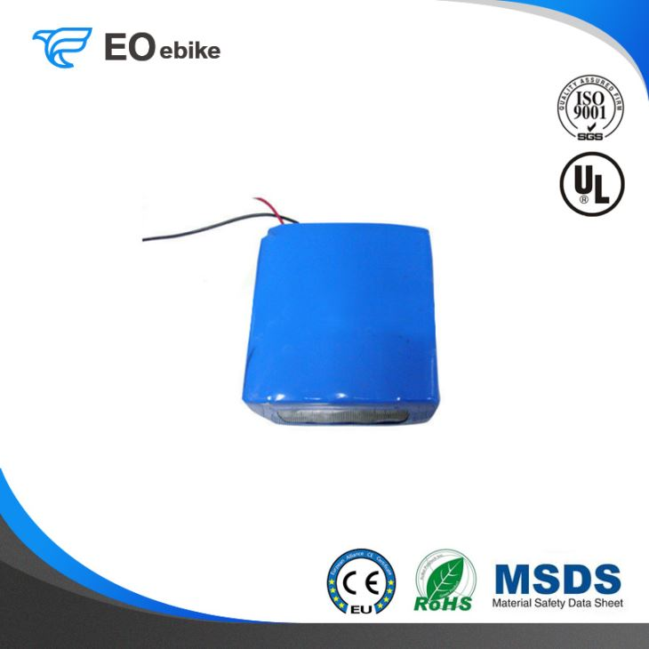 Environmentally Friendly And Pollutant Free Power 24V Electric Bike Battery