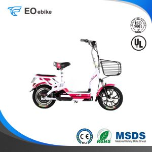 14'' 350W Brushless Motor Little Pudding Electric Pedal Scooter