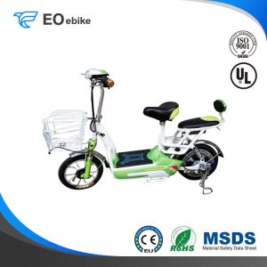14'' 350W Brushless Motor Red Fruit Electric Pedal Scooter with CE