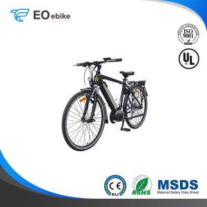250W Mid Drive Motor V Brake Shimano 7 Speed 28'' EB51 Electric City Bike