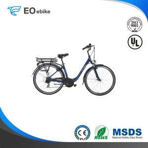36V 250W V Brake Shimano 7 Speed 28'' EB21 Electric Lady Bike with EN15194