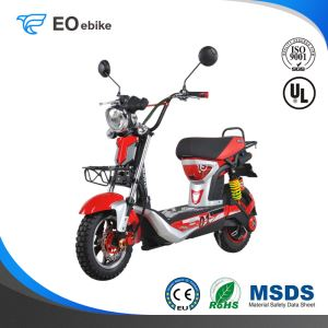 48-60V/20Ah Gel Battery EM68 Electric Pedal Scooter with EEC