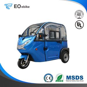 800W DC Brushless Motor Adult Wholesale U-CAR Electric Passenger Tricycle