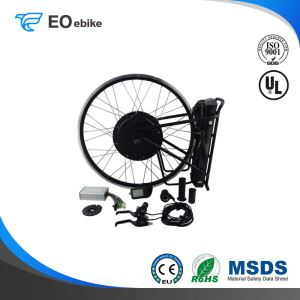 Aluminum Alloy Black Color Professional 750W Electric Bike Conversion Kit