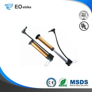 High Pressure Customized LOGO Metal Baking Paint Tested Bike Pump