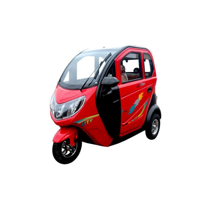 1000W Fully Enclosed Electric Passenger Tricycle